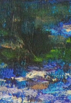 Kunstprojekt Blau Bleu Blue